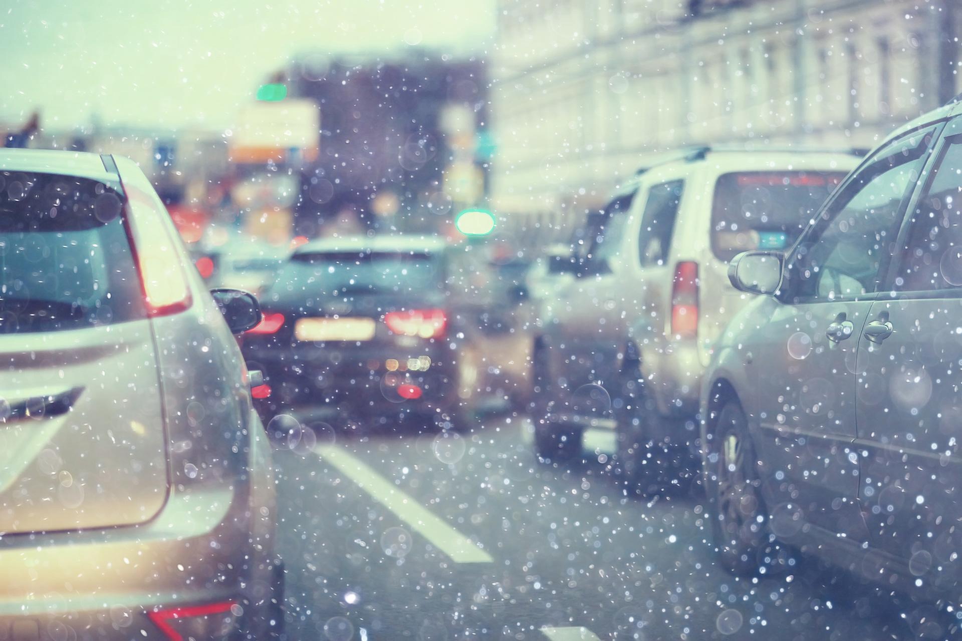 Snow Transport Road City